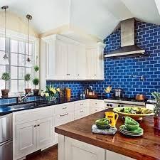 luxurious and splendid kitchen backsplash blue subway tile cars