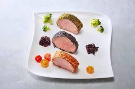 dressage des assiettes en cuisine dressage d une assiette de médaillons de veau aux trois couleurs et