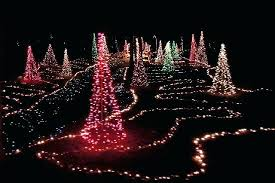 Spiral Lighted Christmas Trees Outdoor by Lighted Christmas Trees Lighted Tree Trio Set In Acrylic Led