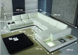 canapé cuir en u canapé cuir d angle denver denver salons and living rooms