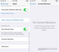 iOS 9 Enables Third Party Content Blockers in Safari