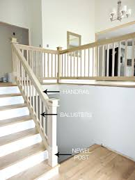 Banister Attachment How To Install A Wooden Handrail On Split ... Stairs Outstanding Wood Railings For Stairs Amusingwood Staircase Residential House Stainless Steel Banister Stock Photo Amazoncom Summer Infant To Universal Gate Remodelaholic Diy Stair Makeover Using Gel Stain Interior Wooden Railing Lovely Home Wood Bennett Company Inc Interior Sawtron Stairwell 00 Railings Natural Accent Brown Design With Best 25 Stair Ideas On Pinterest Rustic 56 Best Home Images Modern Railing Banister In Home Royalty Free Image 2873661 Alamy Handrail Code And Guards Deciphered