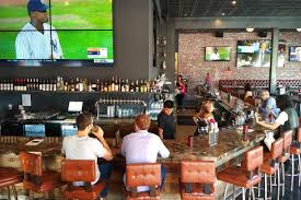 West LA's New Nickel Bar Does Big Screens And Wings Just In Time ... Las Best Bars For Watching Nfl College Football 25 Santa Monica Restaurants Ideas On Pinterest Monica Hotel Luxury Beach The Iconic Shutters Date Ideas Where To Find The Best Cocktail Bars In Los Angeles Neighborhood Guide Happy Hour Deals Harlowe Bar 137 Nightlife Images La To Watch March Madness Cbs For Hipsters In