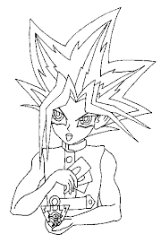Coloring Yugioh Page