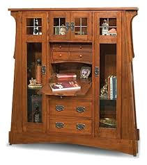 desk arts and crafts secretary desk plans home styles arts and