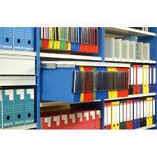rayonnage bureau rayonnage archives tolé à parois rayonnage de bureau