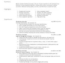 Warehouse Team Leader Cv Example Resume Summary Inventory Supervisor Lead Sample Inspirational Resu