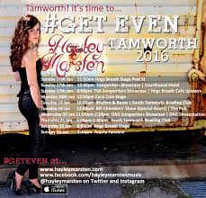 Hayley Marsten Tamworth Poster