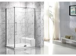 eck duschwand mit duschwanne sitzbank delia b122 x t81 x h190 cm