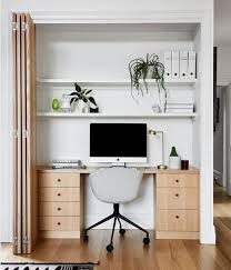 büro im schrank verstecken ideen für den arbeitsplatz zu hause