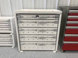 100 Service Truck Tool Drawers AG Body 5 Drawer Unit Dickinson Equipment