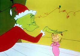 He Is Briefly Interrupted In His Burglary By Cindy Lou A Little Who Girl But Concocts Crafty Lie To Effect Escape From Her Home The Grinch Then