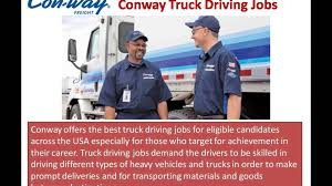 Conway Truck Driving Jobs Video - YouTube Blog Page 19 Of 44 Drive My Way Halliburton Truck Driving Jobs Find Truck Driving Jobs In Michigan Hiring Cdl Drivers Conway Truckload Top Paying Idevalistco Conway Trucking Company Conway Freight Line Ukrana Deren Truckdomeus Video Youtube Schneider