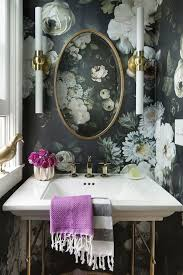 Create A Chic Bathroom With These Trendy Wallpaper Ideas   SA Décor ... Neutral Graphic Wallpaper Takes This Small Bathroom From Basic To Bold Removable Wallpaper Patterns For Small Bathrooms The Alluring Bathroom Bespoke Best Wall Covering For Ideas Waterproof Walllpaper Paper Glamorous With 3d Porcelain Tile Ideas 342 Full Hd Wide 40 Design Top Designer Fascating Grey Virtual Remodel Dream 17 Stylish Victorian Plumbing Black And White Hawk Haven