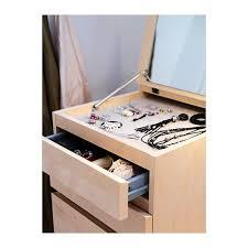ikea malm commode 6 tiroirs malm ou flaren 119 commode pour maquillage à installer dans la