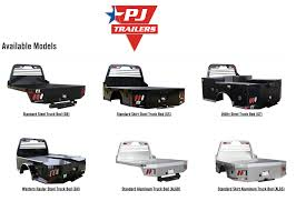 100 Pickup Truck Utility Beds PJ Flatbed