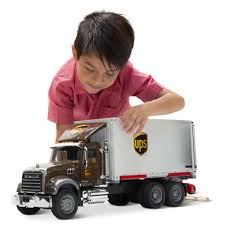 100 Ups Truck Toy The UPS Working And Forklift Hammacher Schlemmer