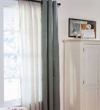 thermalogic rod pocket curtain liner sheers with blackout ebay