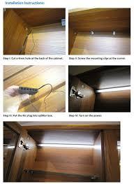 cabinet corner lighting corner led profile led inside cabinet