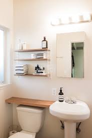 Home Ideas : Smart Bathroom Shelving Storage Alluring Creative ... Small Space Bathroom Storage Ideas Diy Network Blog Made Remade 15 Stunning Builtin Shelf For A Super Organized Home Towel Appealing 29 Neat Wired Closet 50 That Increase Perception Shelves To Your 12 Design Including Shelving In Shower Organization You Need To Try Asap Architectural Digest Eaging Wall Hung Units Rustic Are Just As Charming 20 Best How Organize Tiny Doors Combo Linen Cabinet