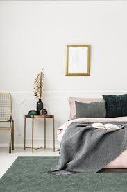 amazonian green teppich grün mit blumenmotiv wohnzimmer 160x230 esa home