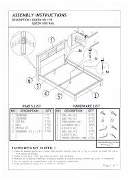 Kura Bed Instructions by Assembly Instructions