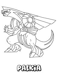 Coloringsco Legendary Pokemon Coloring Pages Palkia