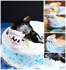 Free Shark Pumpkin Carving Templates by Shark Cake Egg Free Dairy Free Gluten Free Food Allergies