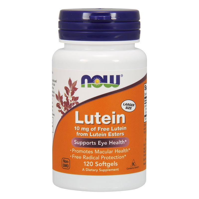 Now Foods Lutein Esters 120 Softgels