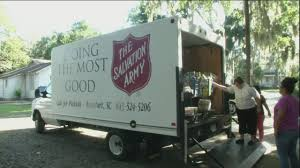 Beaufort Salvation Army Gets Help Stocking Shelves After Florence