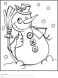 Frosty Snowman White Christmas Tree by Frosty The Snowman Coloring Pages Getcoloringpages Com