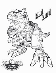 Free Power Rangers Dino Charge Coloring Pages