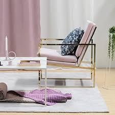 hemma bruket sessel stühle armlehnensessel für wohnzimmer velvet stuhl schlafzimmer sessel starker messing vergoldeter metall stahlrahmen samt