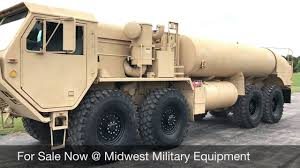 1983 Oshkosh M978 Hemtt Fuel Tanker Truck For Sale Midwest Military ... 19 2005 Okosh Front Mixer Cat12 Triaxle Cement Trucks Inc Salem Trucking Dump Caterpillar Bangshiftcom 1950 W212 Truck For Sale On Ebay Powerful Military Vehicles Civilians Can Own Machine 1998 Kosh Ff2346 Cab Chassis For Sale Auction Or Lease 1979 M911 Brandywine Equipment Joint Light Tactical Vehicle Wikipedia 1985 As32p19a Fire Lamar Co 7027 2 Ism Engine