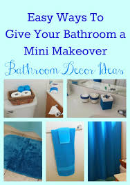 Teal Color Bathroom Decor by Diy Bathroom Decor Ideas 28 Images 30 Brilliant Diy Bathroom