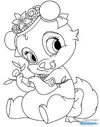 coloring page Blossom