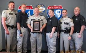100 Paschall Truck Lines 6 Members Of Kentucky State Police Honored By
