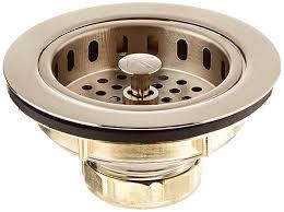 Commercial Sink Strainer Gasket by Keeney K5445dsbn Cast Brass Drop Post Sink Strainer Basket