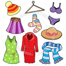 940x940 Cartoon Woman Clothes Collection By Clairev Toon Vectors EPS