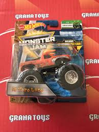 El Toro Loco 1/6 Creatures 2018 Hot Wheels Monster Jam Case C | EBay