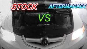 stock vs aftermarket headlight comparison
