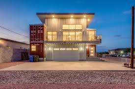 100 Houses Built From Shipping Containers Container House In The Desert Asks 610K Curbed