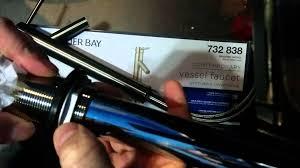 Glacier Bay Faucet Removal by Glacier Bay Vessel Faucet Problem Youtube