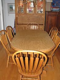 Oak Dining Room Sets With Hutch Classic Photo Of Concept Fresh In