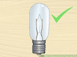 how to replace a kenmore freezer light bulb 15 steps