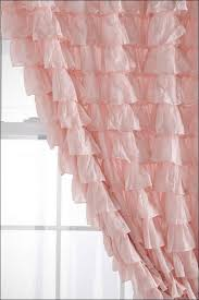 Pink And Purple Ruffle Curtains by Living Room Magnificent Purple Curtains Sheer Curtains Clearance