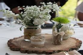 Wedding Table Centerpieces With Mason Jars 4074