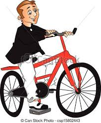 For Developers Man Riding Bike Clipart