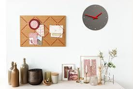 wall clock mauve