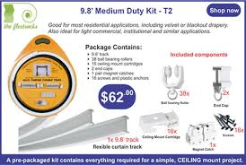 Motorized Curtain Track Manufacturers by Flexible Multipurpose Curtain Track Systems Theflextrack